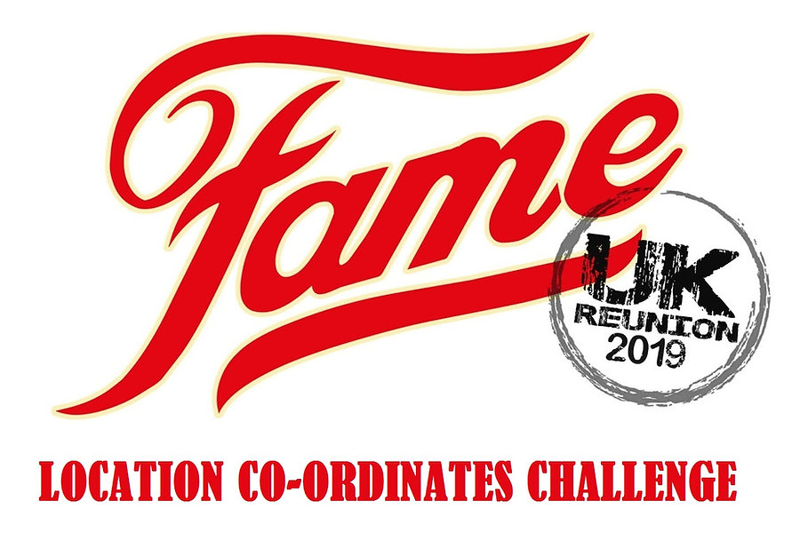 Fame uk 2019 location coordinates challa