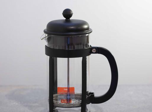 Prepara tu Café con la Prensa Francesa