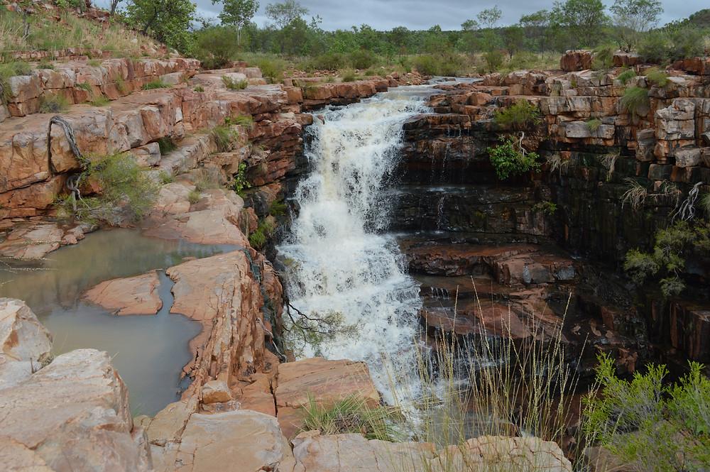 The Grotto in wet season flow