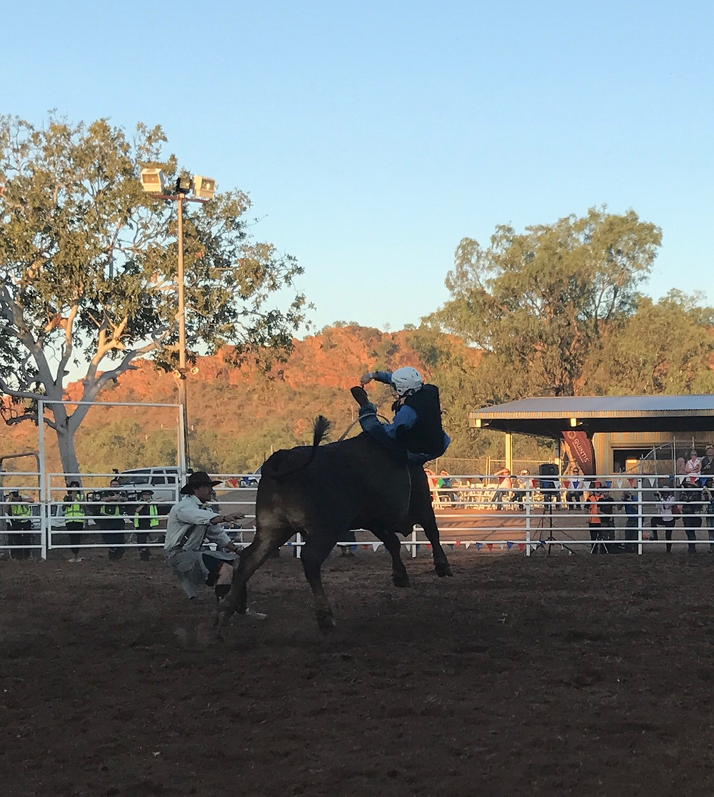 Never a dull moment when you are a Rodeo Clown!