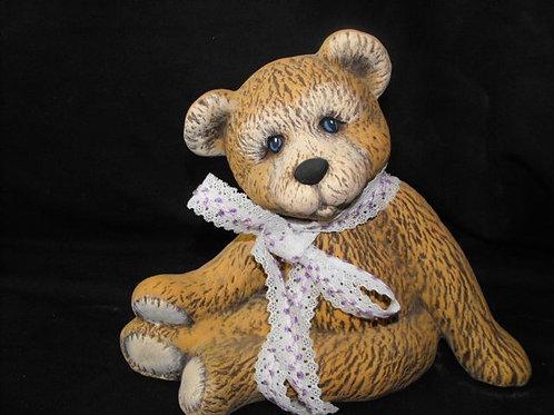 Fluffy bear bank