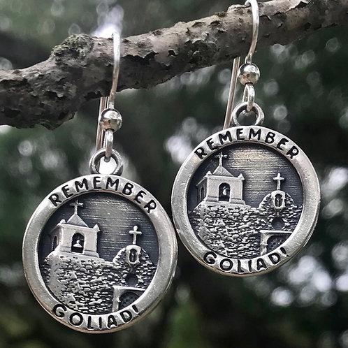 Remember Goliad Earrings