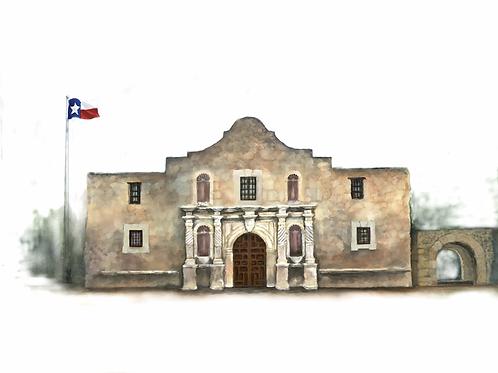 Remembering the Alamo Artwork