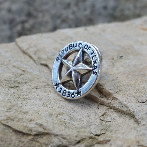 Republic of Texas Star Lapel Pin