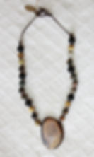 Natural Elements Jewelry Royal Sahara Jasper Necklace Richmond Texas Earth Jewelry