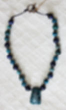 Natural Elements Jewelry Apatite  Necklace Richmond Texas Earth Jewelry