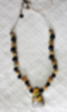 Natural Elements Jewelry Bumblebee Jasper Necklace Richmond Texas Earth Jewelry