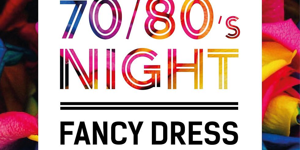 70/80's Fancy Dress night