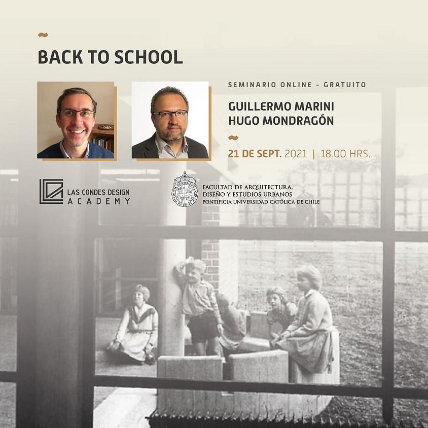 """""""Back to School"""" porHugo Mondragón y Guillermo Marini"""