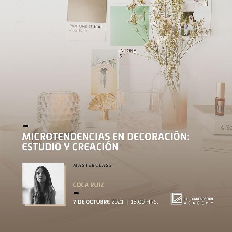 """""""Microtendencias en Decoración : Estudio y Creación"""" por Coca Ruiz"""