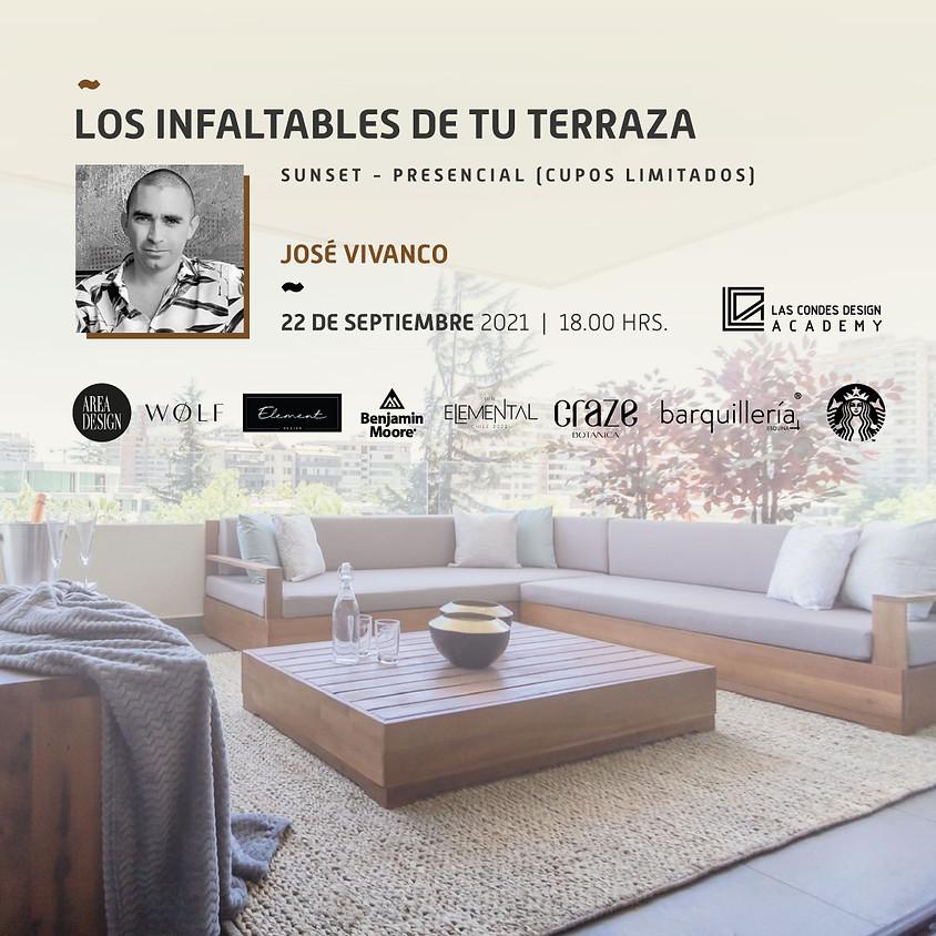 Los Infaltables de tu Terraza por José Vivanco
