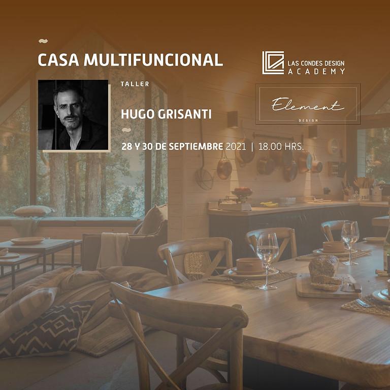 """Casa Multifuncional"" por Hugo Grisanti"