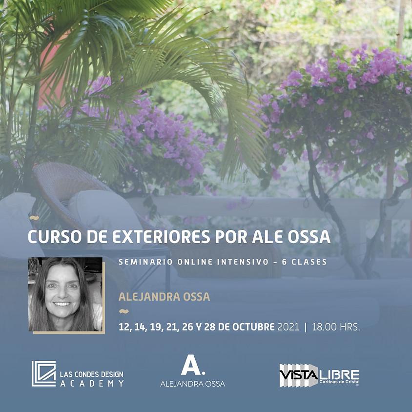 """""""Curso de Exteriores"""" por Ale Ossa"""