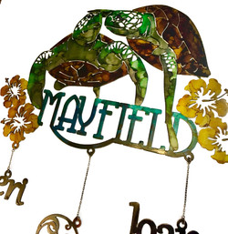 Custom Mayfield Sisters Sign Angle_Turtle