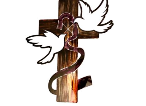 Ribbon Cross