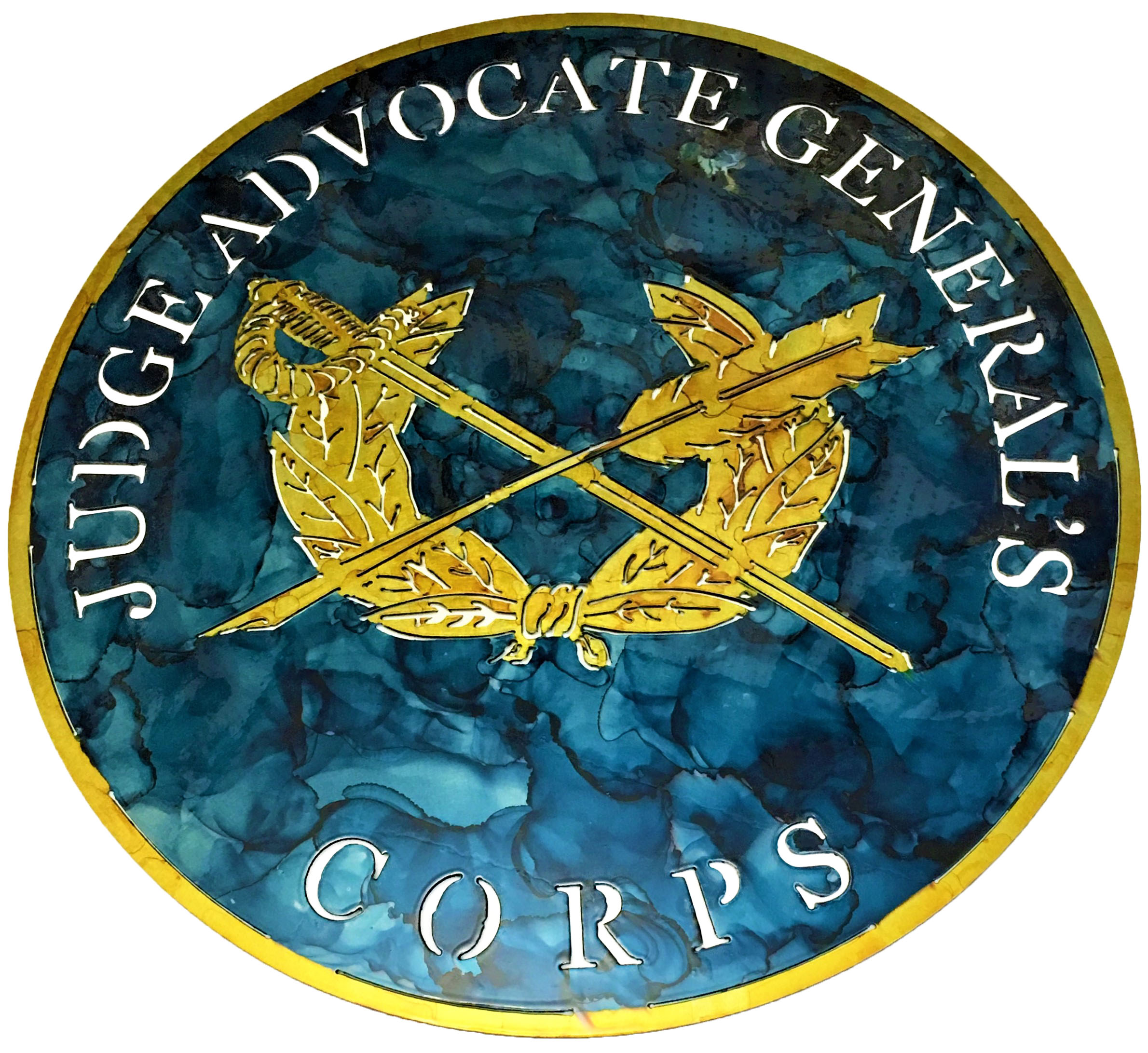 Judge Advocate General's Corp_MetalWork_