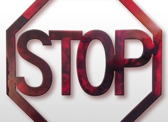 STOP Sign - Color