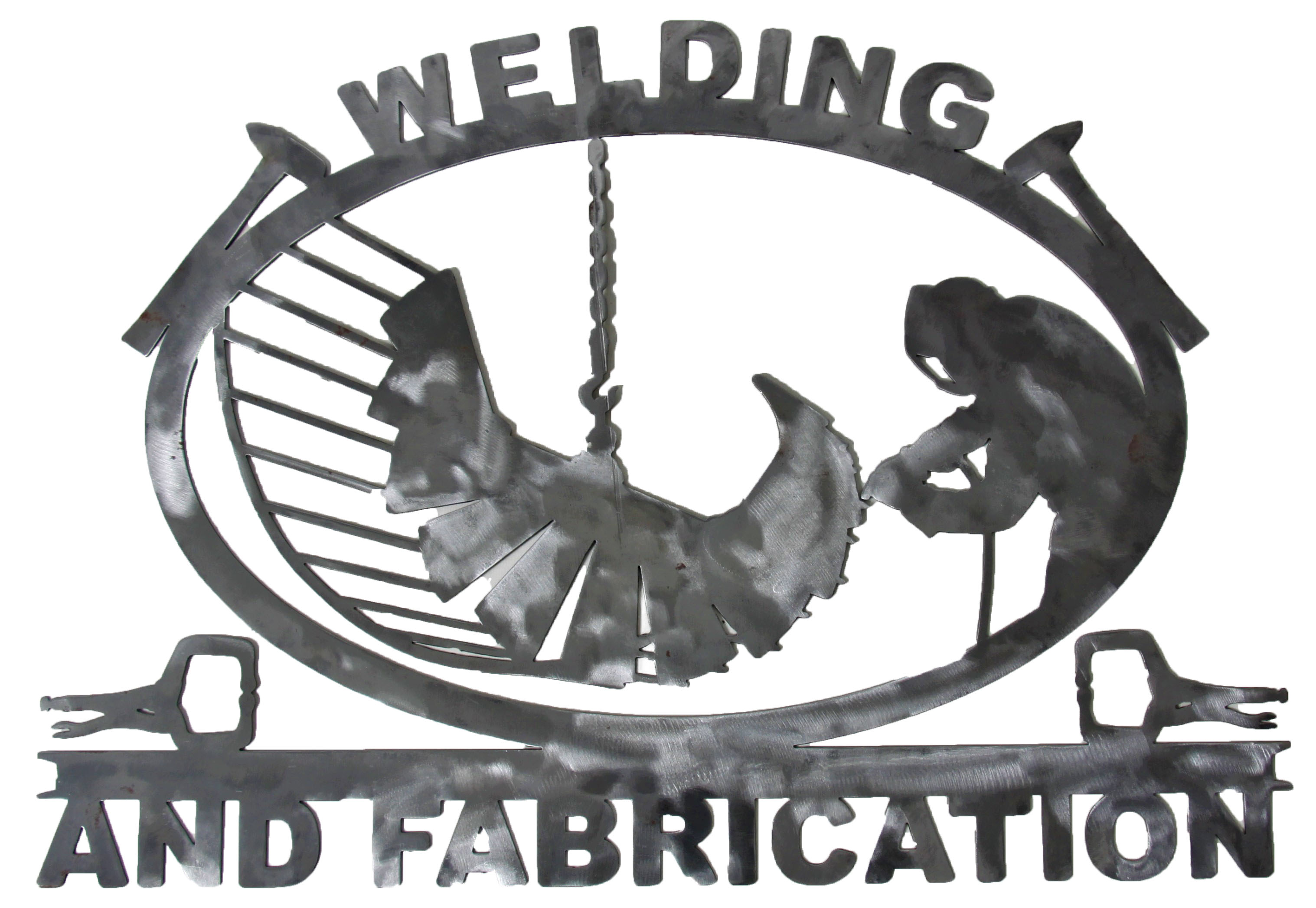 Custom Welding Sign_Polish