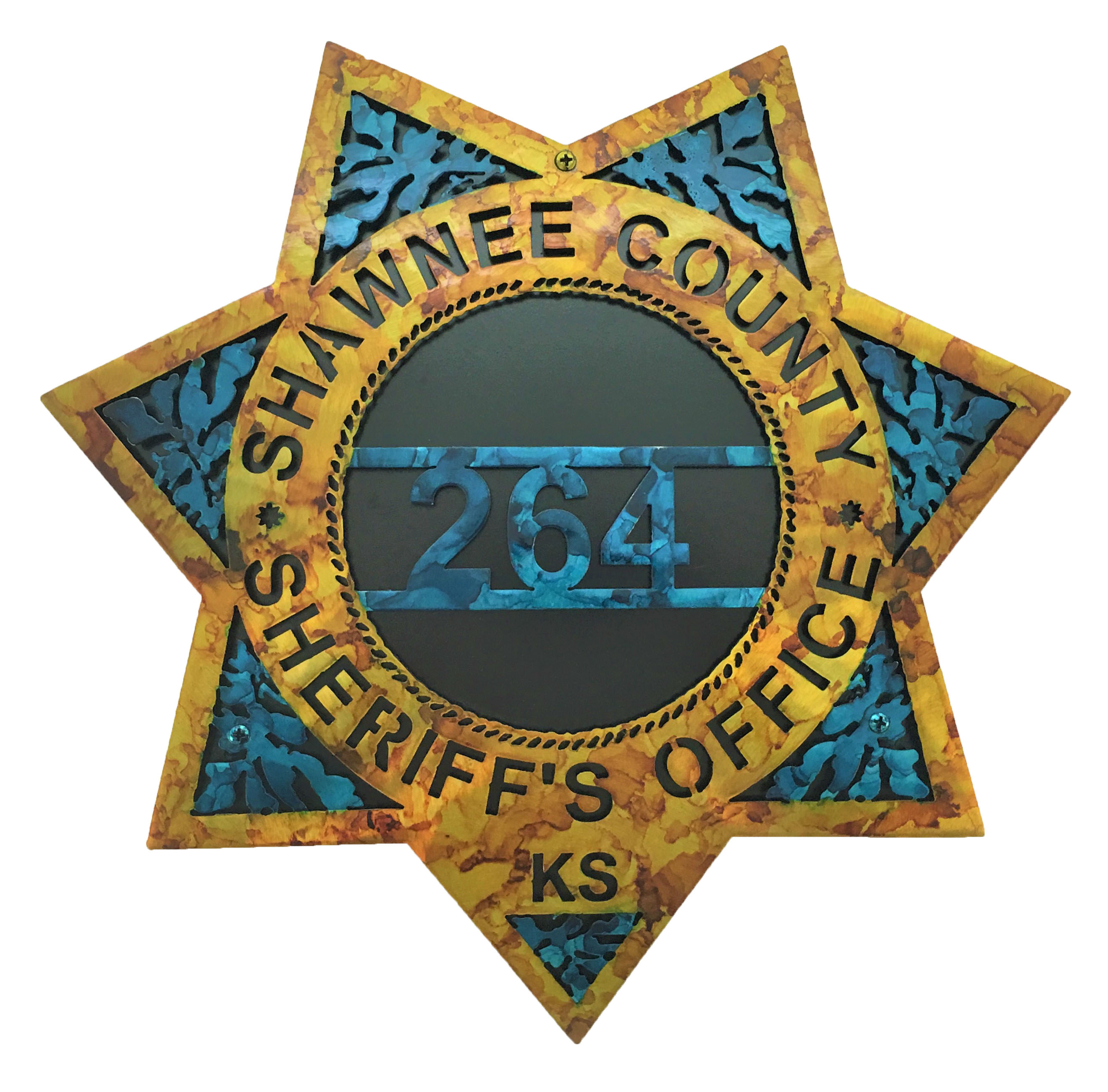 Custom Sheriffs Badge_DoublePlate