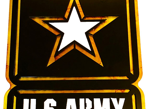US Army Star, Double Plate