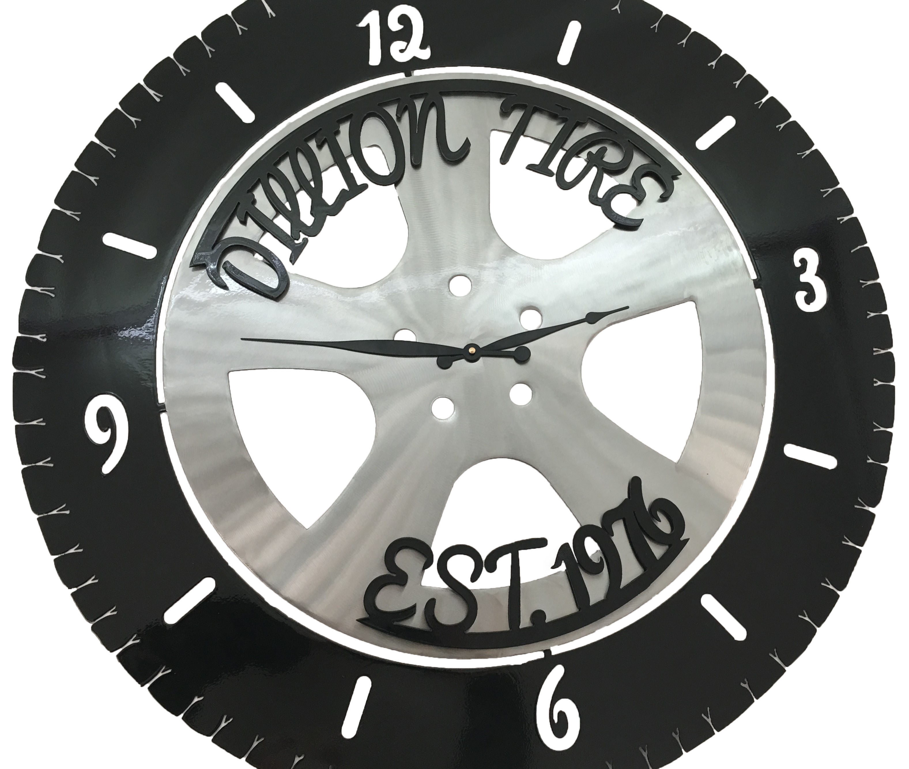 Dillion Tire Clock_Custom