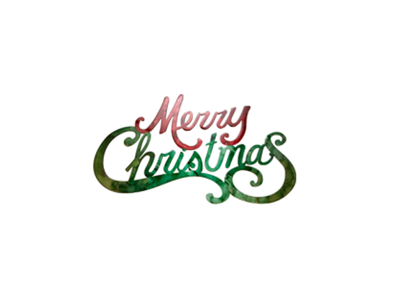 Merry Christmas (Traditional Script)