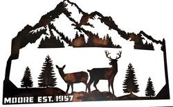 Moore Deer Mountain Monogram_Custom_Color_Brown