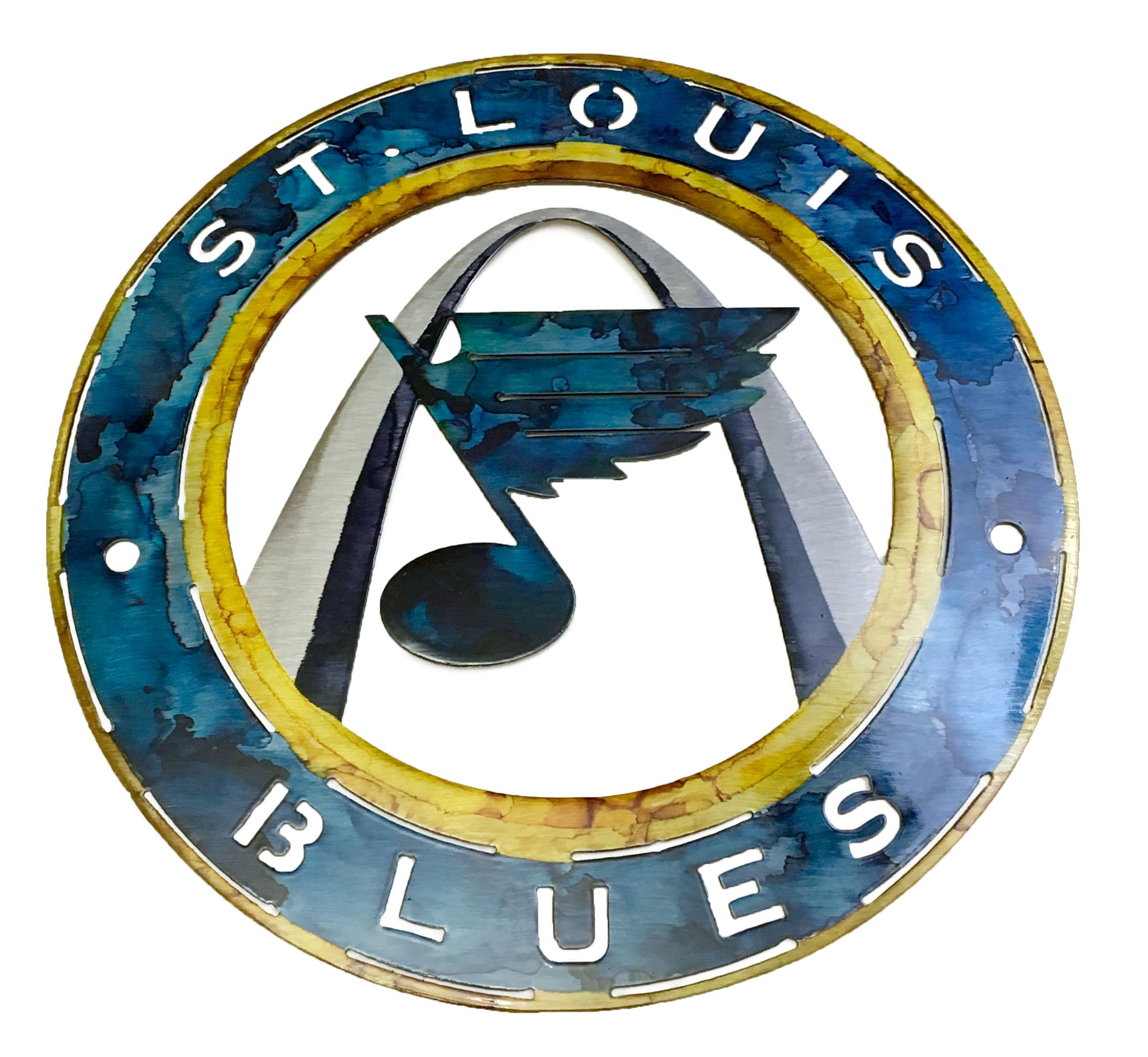 St.Louis Blues Hockey Sign_Custom