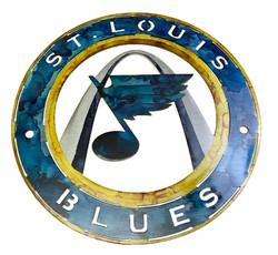 St.Louis Blues Hockey Sign_Custom