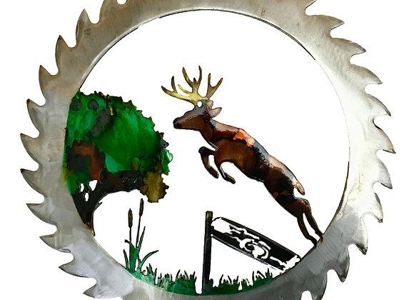 Jumping Deer Sawblade