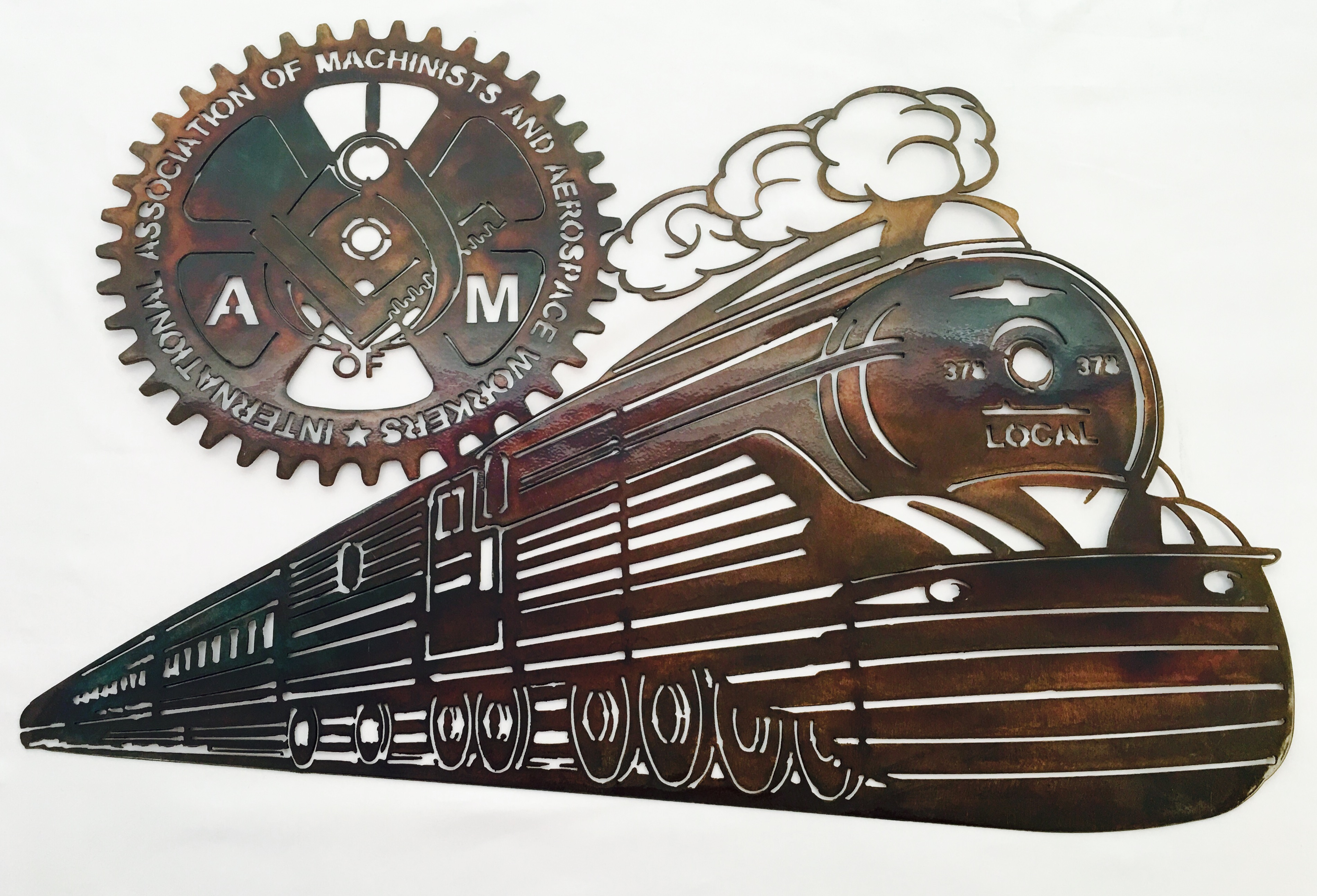 IAM Train copper prism