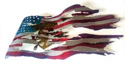 Flag with Trident Angle_Custom