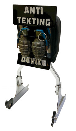 Anti-Theft Custom Harley Back Rest_Grenades (4)