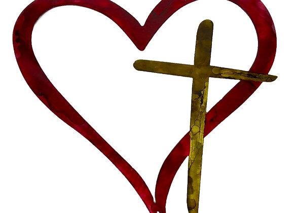 Heart w/Cross