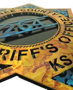 Custom Sheriffs Badge Angle_DoublePlate