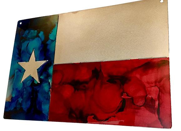 Texas Block Flag