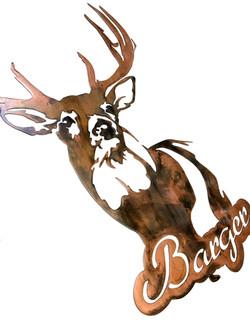 Barger Big Buck Copper custom angle