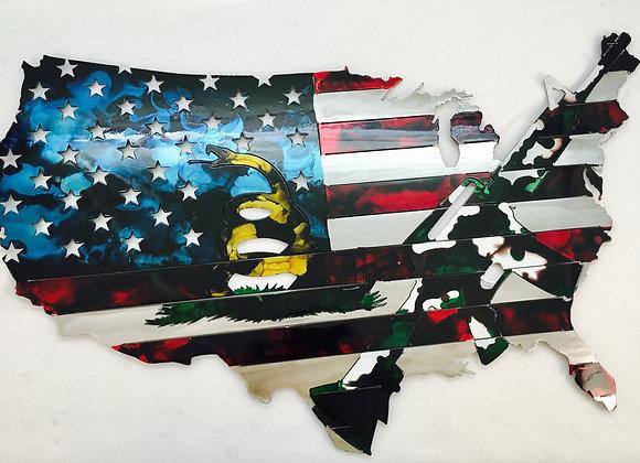 USA Flag (Small) - Camo