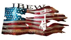 IBEW_Custom_Torn&TatteredFlag