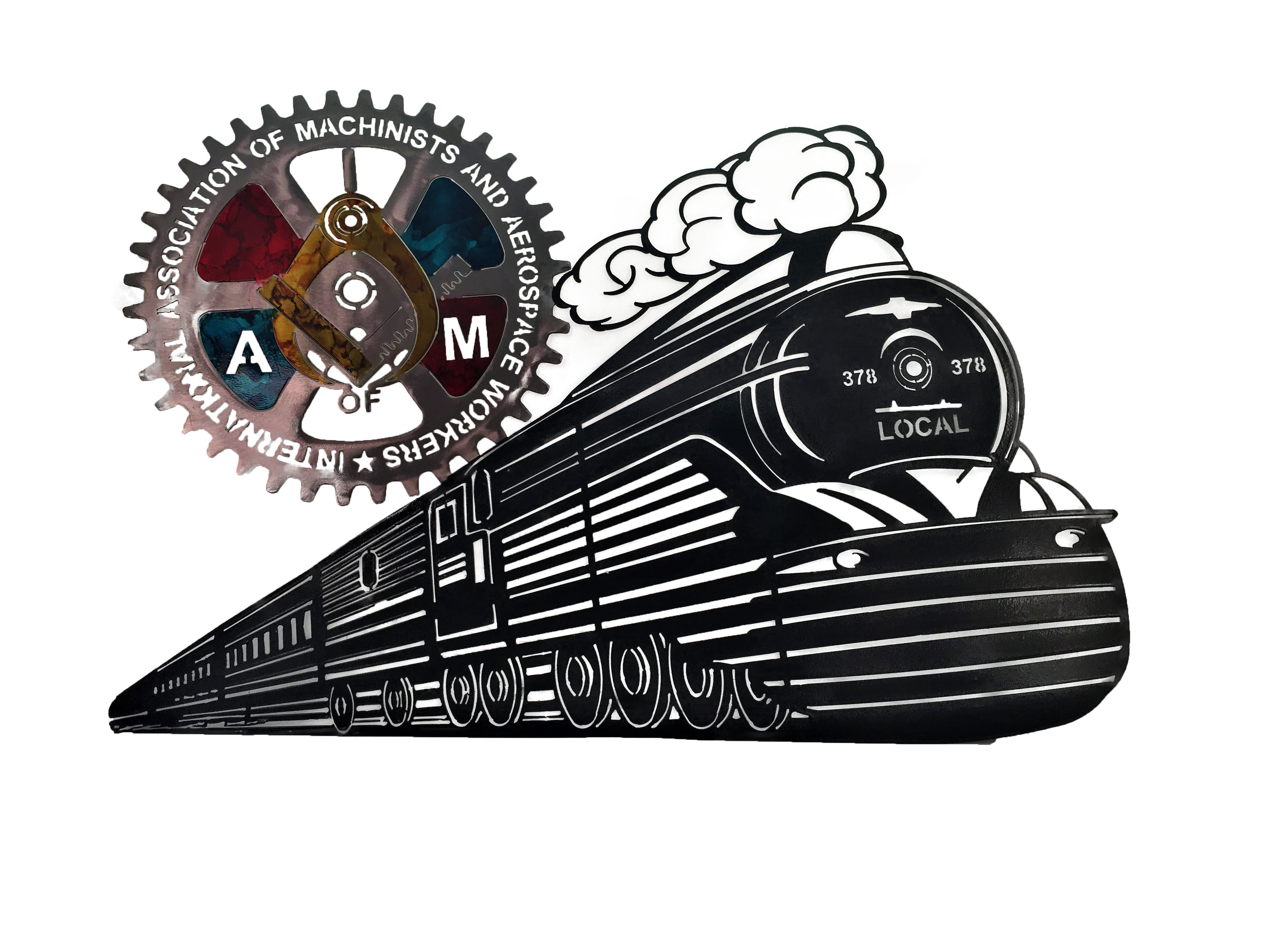IAM Train_Custom_Black