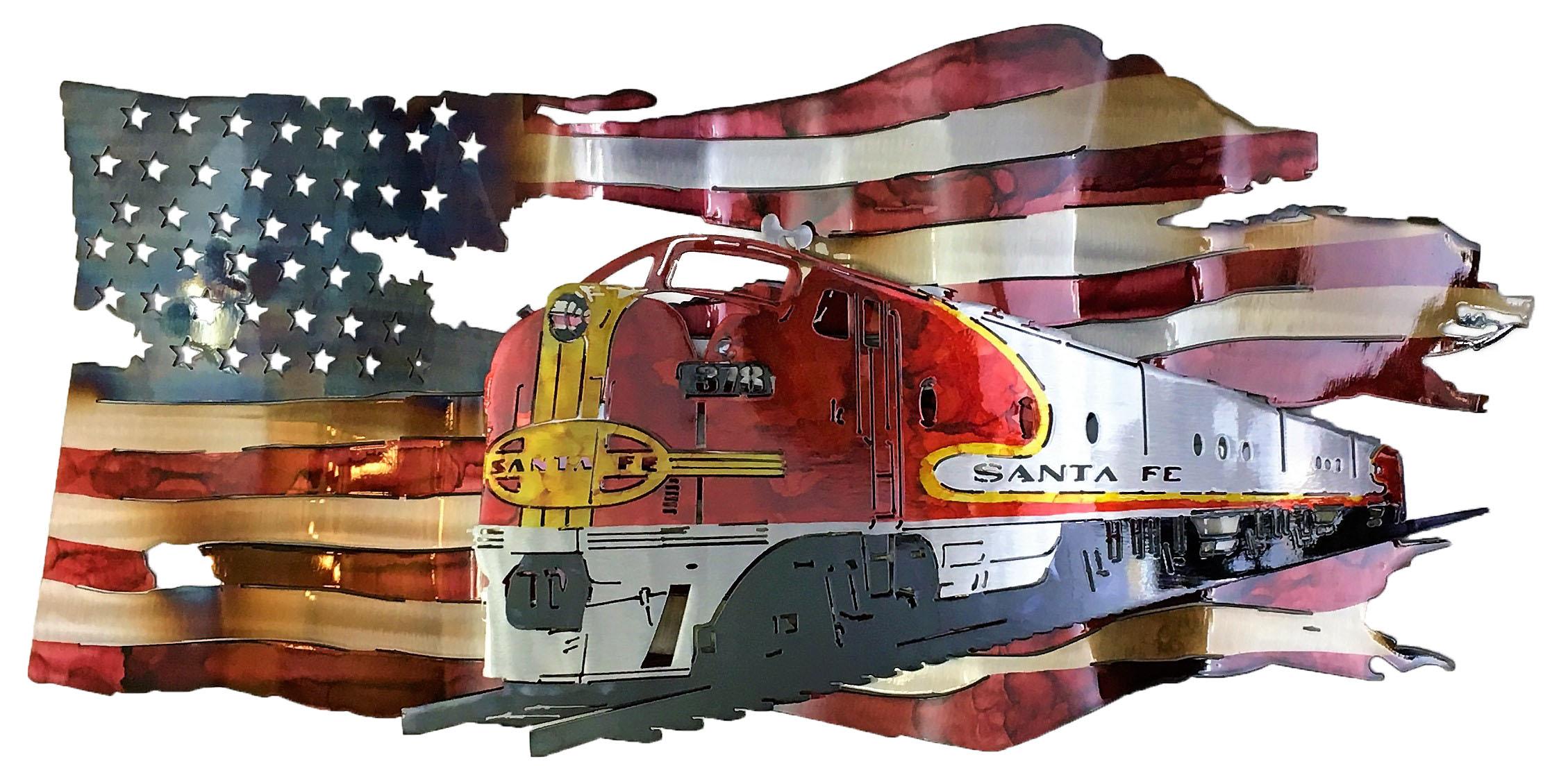 BNSF Custom Flag 2017
