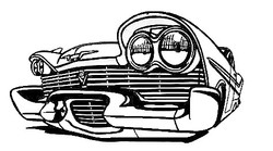 Custom Car Silhoutte