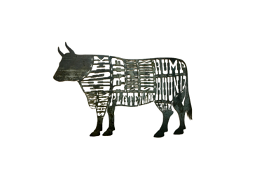 Butcher Block Cow (Raw)