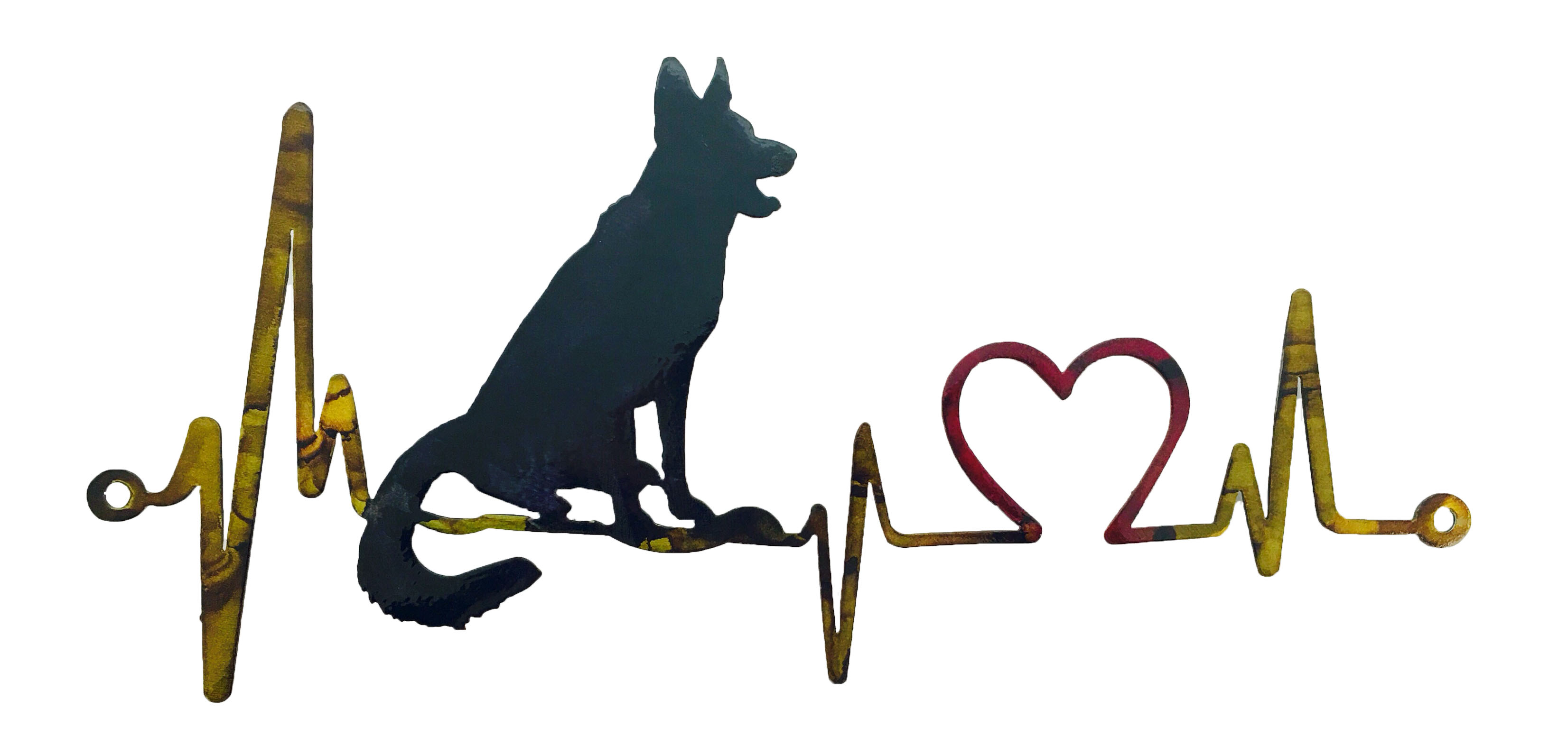 German Shepard Heartbeat_Custom