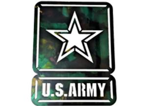 US Army Star, Single Plate