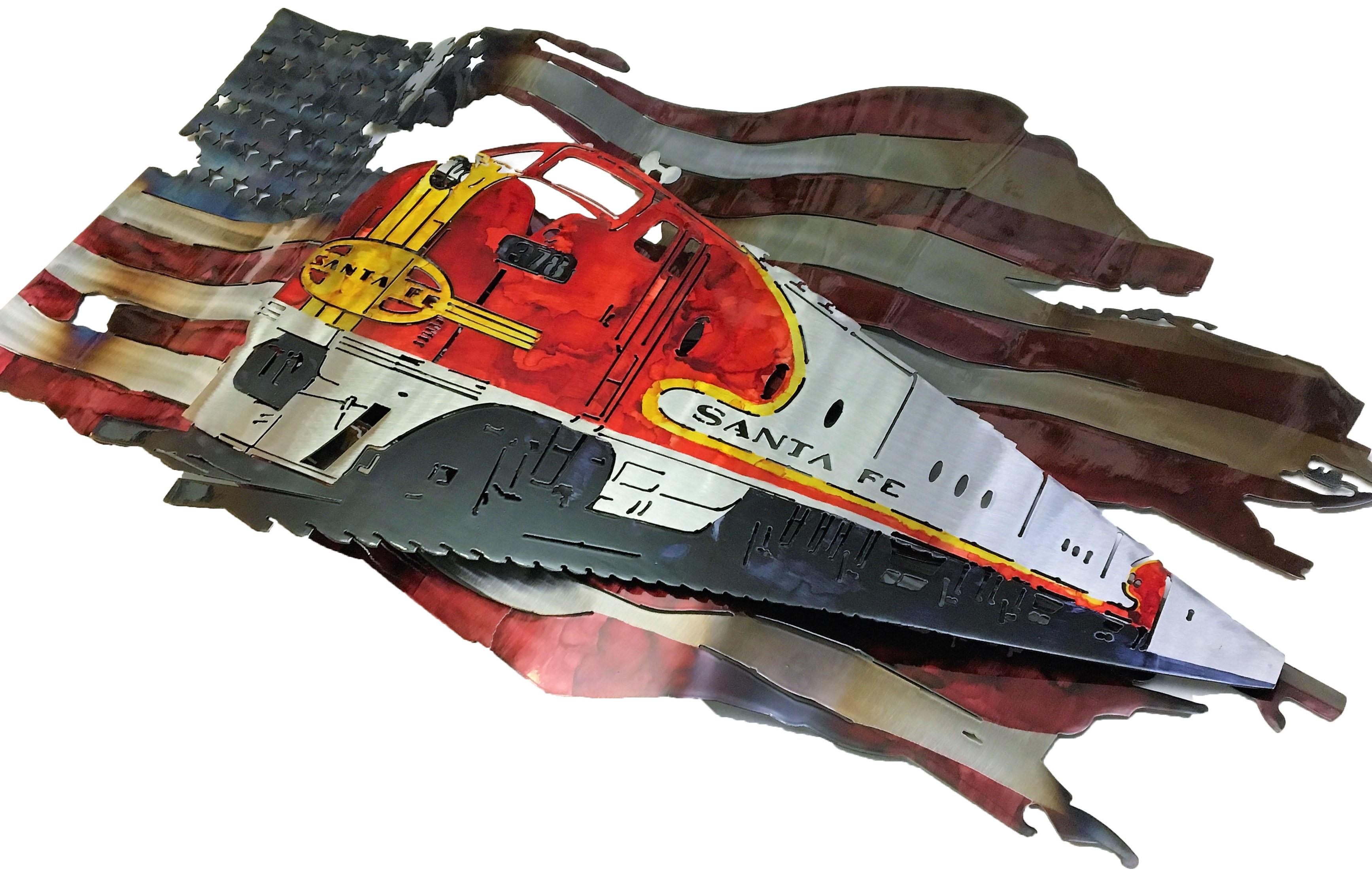 BNSF Custom Flag 2017_Angle
