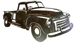 GMC Custom Truck_Dark Rust