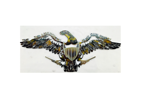 2nd Amendment Gun Permit Eagle