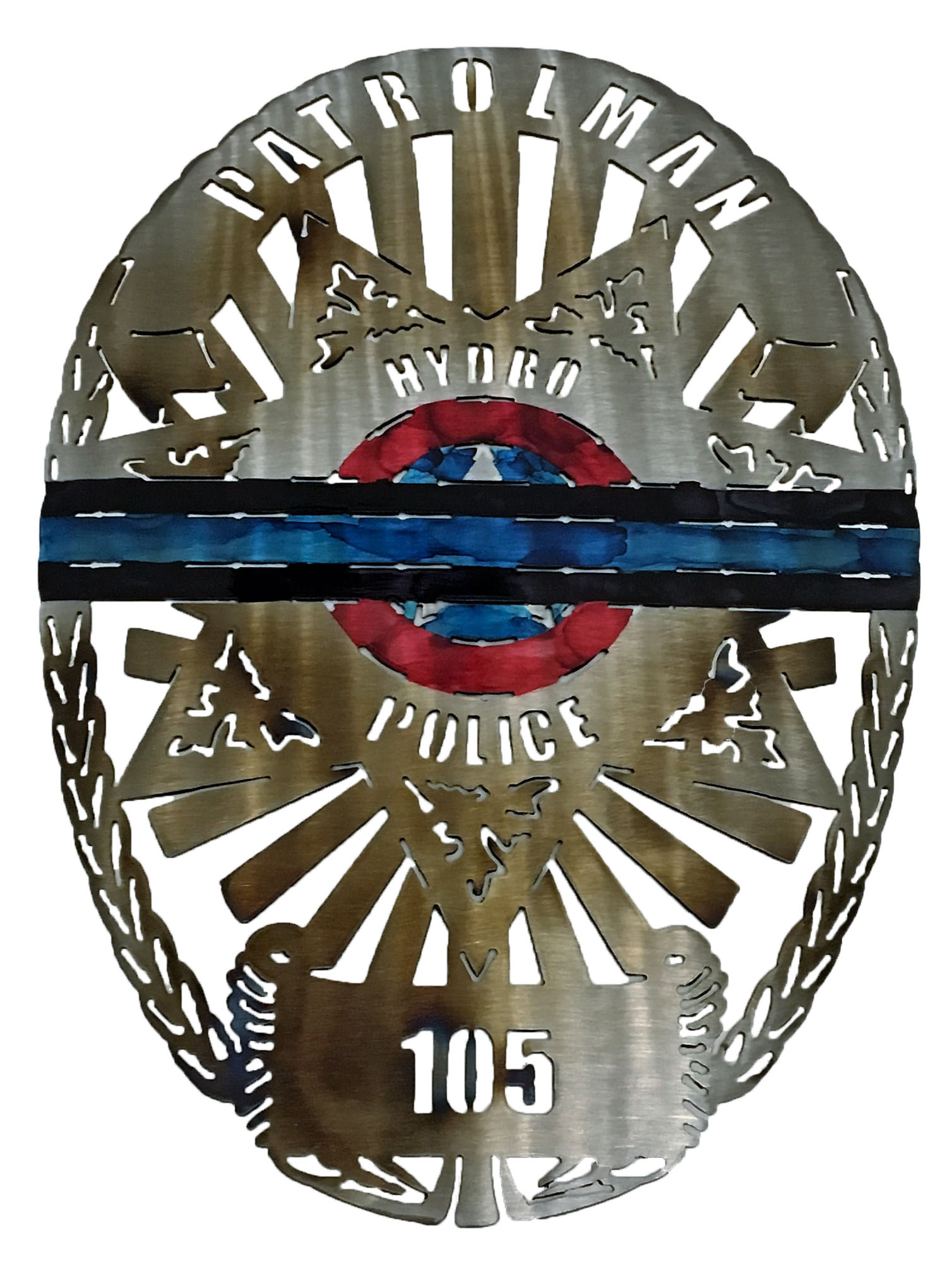 Hydra Patrolman Badge Custom