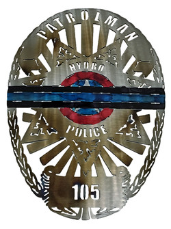 Hydra Patrolman Badge Custom
